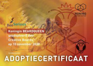 beardqueen adoptie bijenkoningin